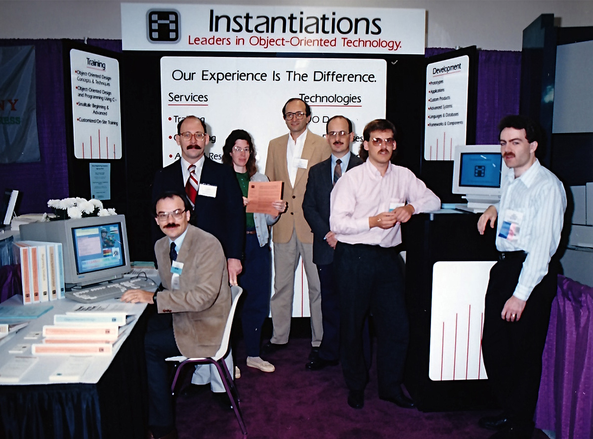 Original Instantiations team, circa 1989
