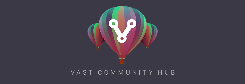 VAST Community Hub banner