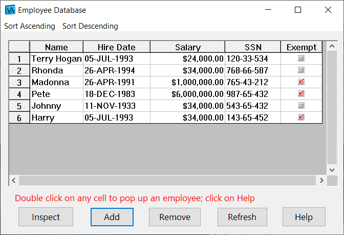 WidgetKit Pro Spreadsheet