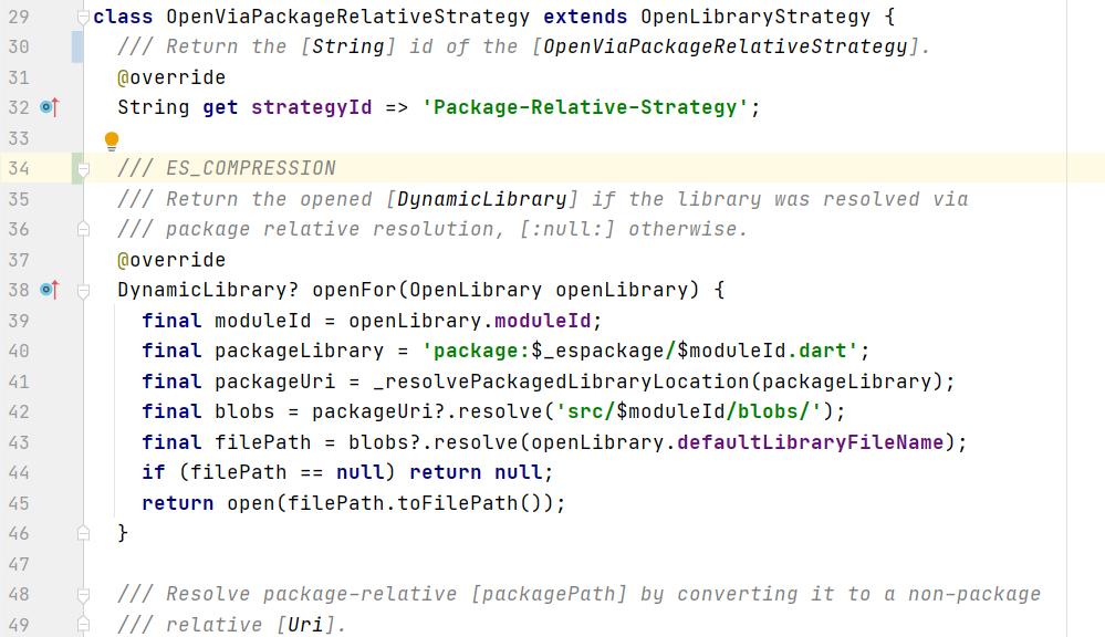 Example of new framework
