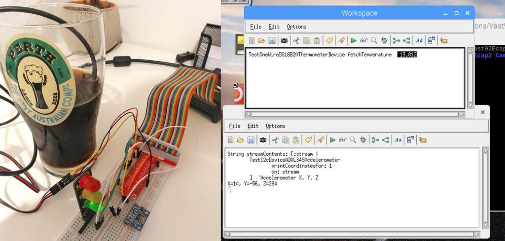 VAST Platform project with Raspberry Pi SBC